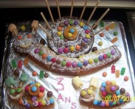 Gâteau en forme d'escargot
