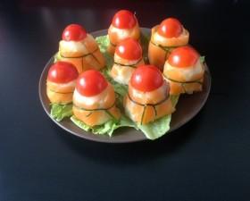 Bouchées saumon pommes de terre