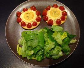 Tartelette chèvre tomates