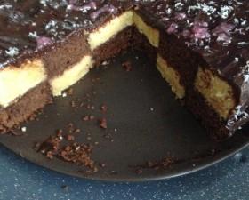 Gâteau damier