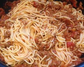 spaghettis bolognaises