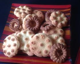 Biscuits au presse biscuits