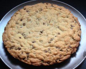 Gâteau façon cookie géant