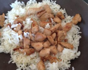 Poulet sauce soja sésame