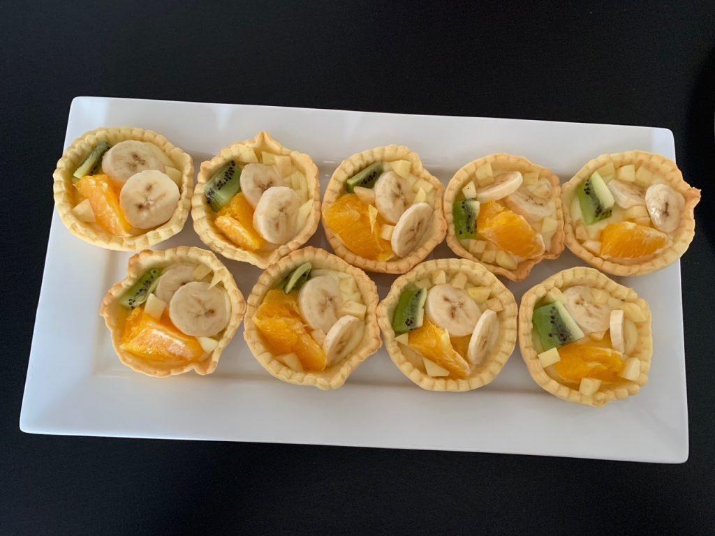 Mini tartelettes aux fruits-Recettes de Delphine