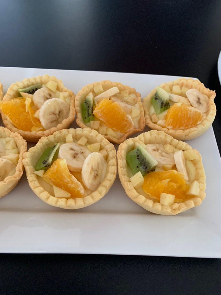 Mini tartelettes aux fruits - Recettes Delphine