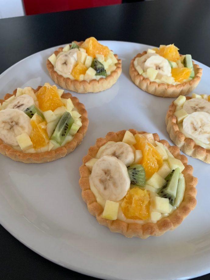Tartelette aux fruits-Recettes Delphine