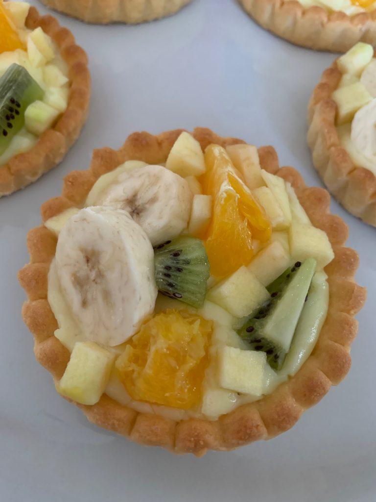 Tartelette aux fruits - Recettes Delphine