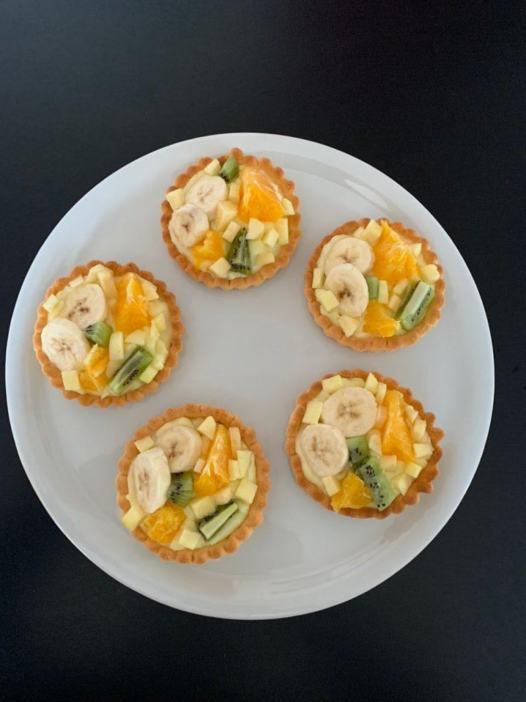 Tartelettes aux fruits - Recettes Delphine