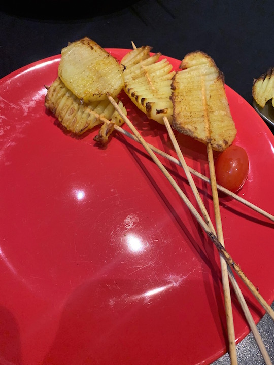 Pommes de terre swirl spirale - Recette Delphine