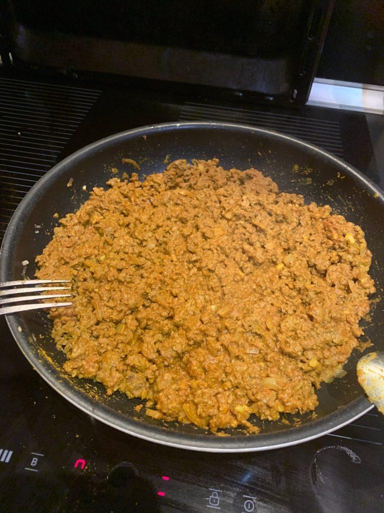 Samoussas boeuf curry