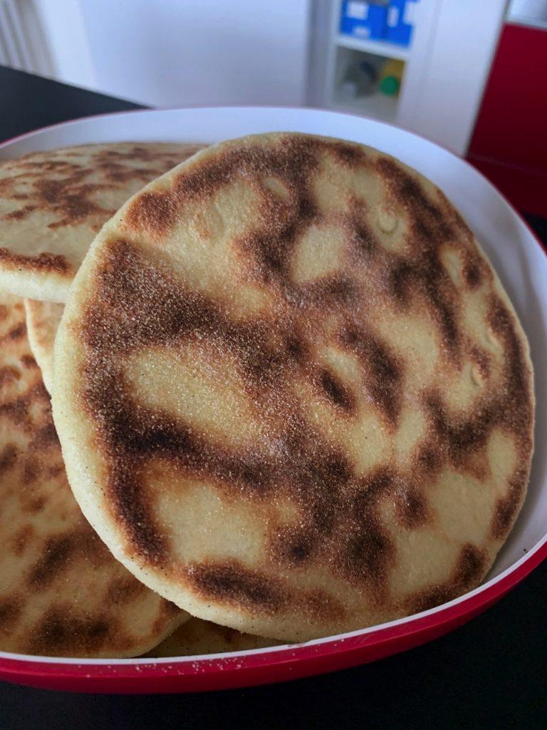 Batbout - Pain marocain - Recettes de Delphine