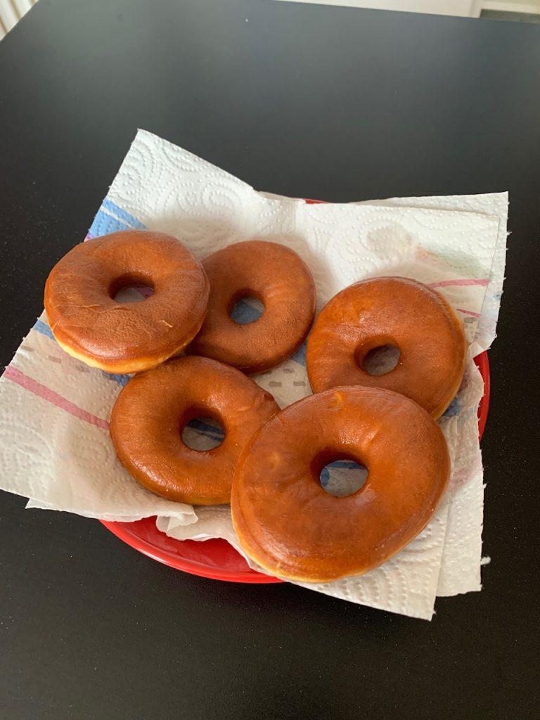 Donuts - Recettes de Delphine