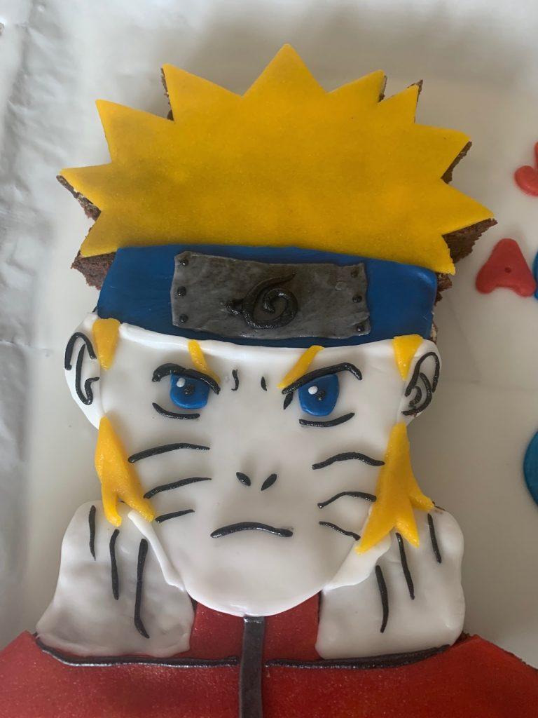 Gâteau Naruto